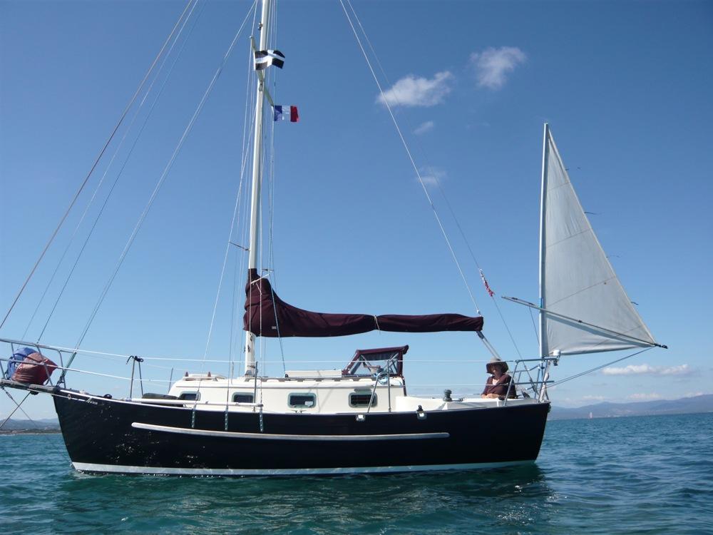 Yawl rig for a Pacific Seacraft Dana 24 – Ahoy!