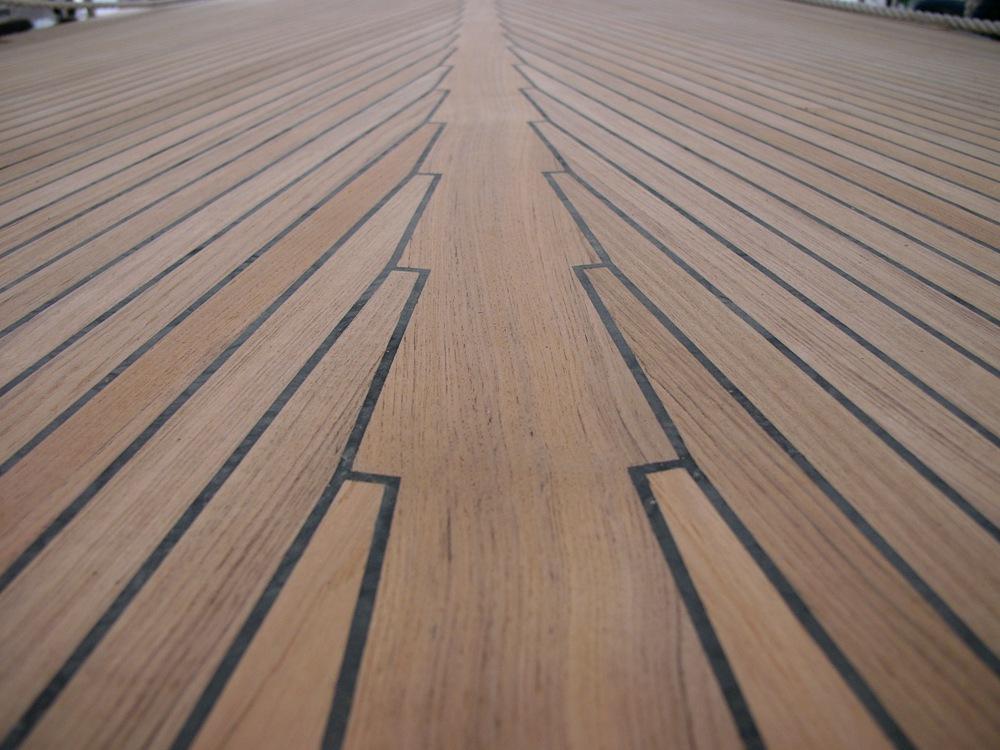 Modern teak decks the truth hurts for Teak flooring
