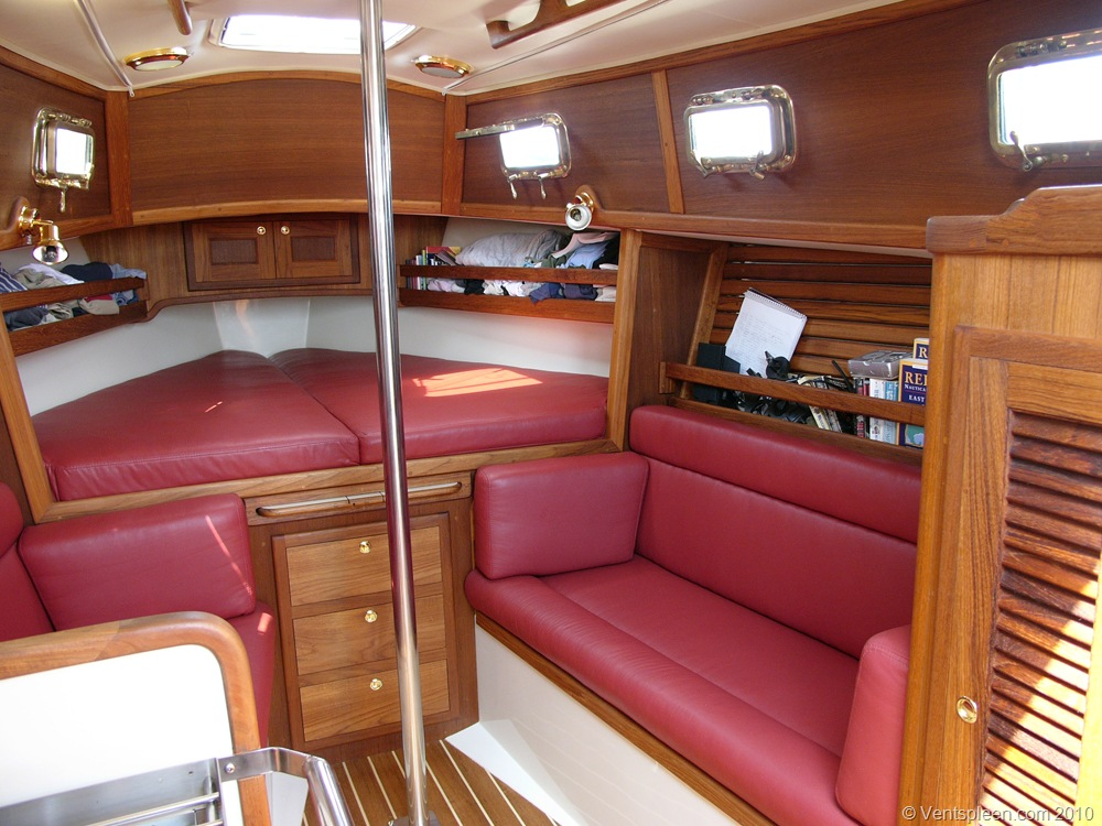 Small yacht interior for Small interior